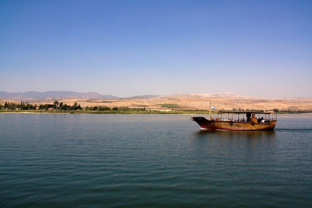 Meer van Galilea, Israël