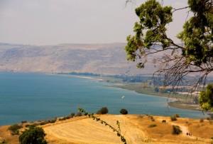 Meer van Galilea, vakantie in Israël