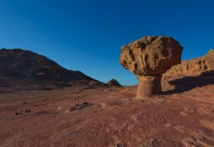Timna park, Eilatgebergte, Israël, Negevwoestijn