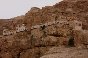 Berg der Verzoeking, Jericho, vakantie in Israël