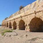 Caesarea strand, stranden in Israël, vakantie