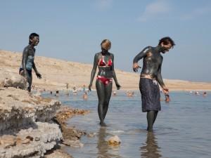 Dode Zee, vakantie in Israël, modder