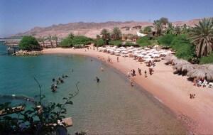Dolphin Beach, Eilat, vakantie in Israël, stranden