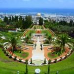 Haifa, Bahai Wereldtempel, Perzische tuinen, vakantie in Israël