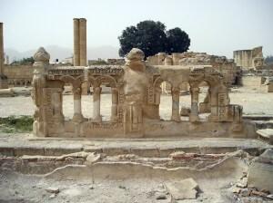 Jericho, ruïnes, vakantie in Israël