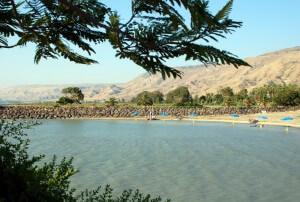 Meer van Galilea, stranden in Israël, vakantie