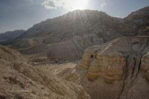 Dode Zee, vakantie in Israël, Qumran, rollen