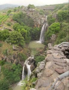 Saar Falls, Golanhoogten, Israël