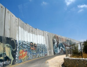 Bethlehem, vakantie in Israël, muur, westoeverbarrière