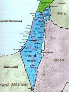 Israel National Trail, pad, vakantie in Israël