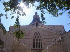 Basiliek van de Aankondiging, Bijbelse plaatsen, vakanties in Israël