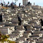 Kidrondal graven, begraafplaats, vakantie in Israël, Bijbel