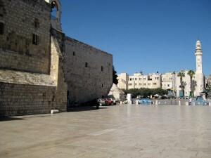 Kribbeplein, Bethlehem, vakantie in Israël