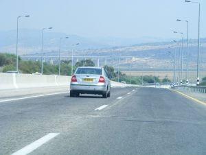 vervoer, auto, vakantie in Israël