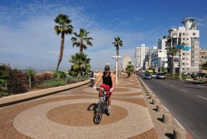 vervoer, fietsen, vakantie in Israël