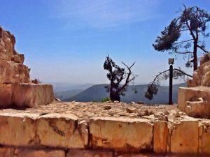 ruines Safed, vakantie in Israël