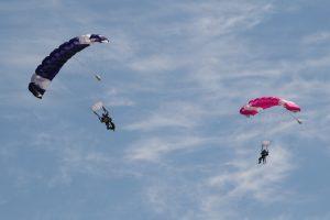 outdooractiviteiten, vakantie in Israël, skydiven